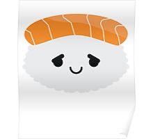 Salmon Sushi Emoji Pretty Please Poster