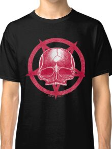 RED SKULL PENTAGRAM Classic T-Shirt