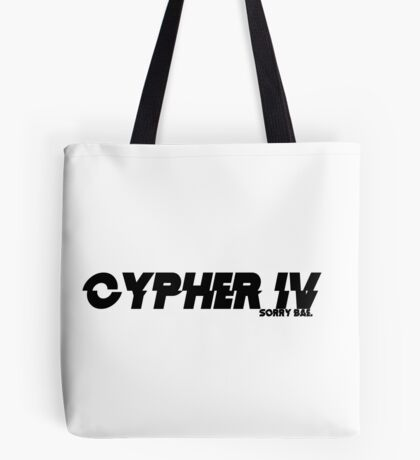 Cypher Part IV Tote Bag