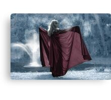 The Ice Princess Canvas Print