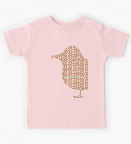 Bird is the Word Kids Tee