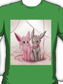 Valentines :: Espeon Umbreon T-Shirt