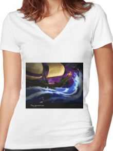 The Adventure Women's Fitted V-Neck T-Shirt