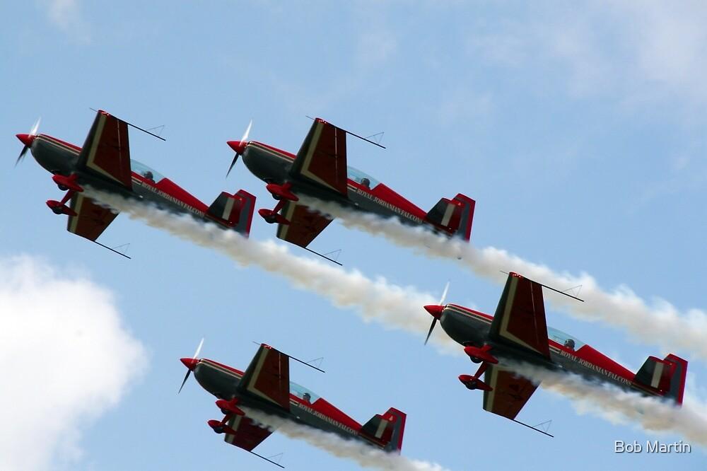 Royal Jordanian Falcons by Bob Martin