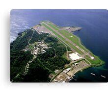 Subic Airport Aerial View Canvas Print