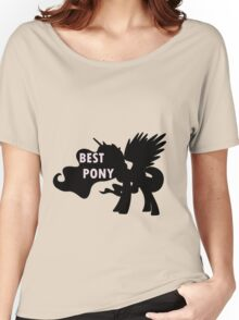 Princess Celestia is Best Pony Women's Relaxed Fit T-Shirt