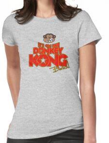 It's on like Donkey Kong! @#$%! Womens Fitted T-Shirt