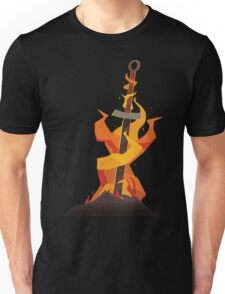 The Coiled Sword Unisex T-Shirt