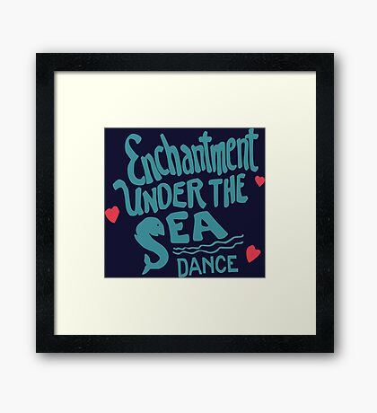 Enchantment Under The Sea  Framed Print