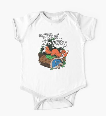The Fox and the Hedgehog  One Piece - Short Sleeve