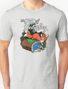 The Fox and the Hedgehog  Unisex T-Shirt