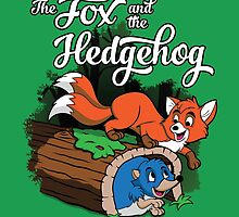 The Fox and the Hedgehog  by irkedorc