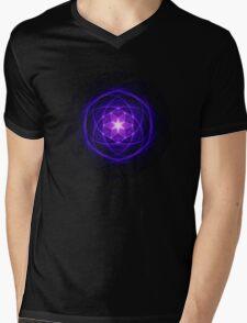 Energetic Geometry - Indigo Prayers Mens V-Neck T-Shirt