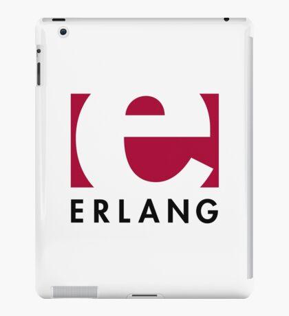 Erlang programming language logo iPad Case/Skin