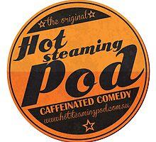 Hot Steaming Pod Shirt by latenitemedia