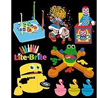 90s Nostalgia Toys Photographic Print