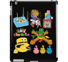 90s Nostalgia Toys iPad Case/Skin