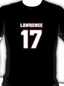 NFL Player Rashad Lawrence seventeen 17 T-Shirt