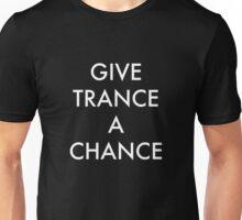 Trance White Unisex T-Shirt