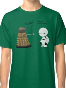 Dalek and Marvin mashup Classic T-Shirt