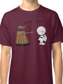 Dalek and Marvin mashup Classic T-Shirt