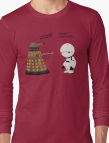 Dalek and Marvin mashup Long Sleeve T-Shirt