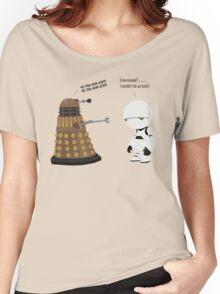Dalek and Marvin mashup Women's Relaxed Fit T-Shirt