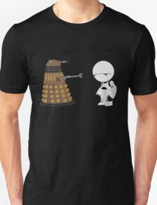Dalek and Marvin mashup Unisex T-Shirt