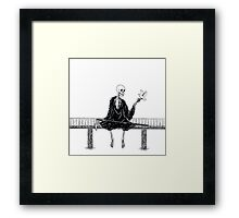O Happy Day for Death Framed Print
