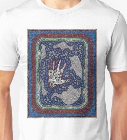 the hands of Gabriel Sanford and Rainier #4 Unisex T-Shirt