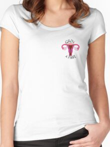 Grow a Pair Women's Fitted Scoop T-Shirt
