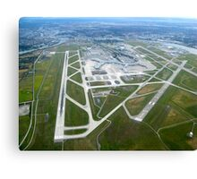 Vancouver International Airport Aerial View Canvas Print