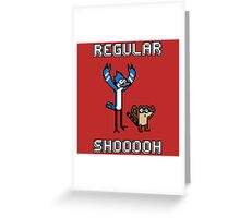 Regular Shoooooh Greeting Card