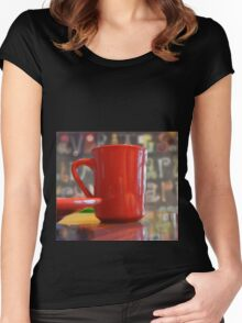 Coffee And Margarita Women's Fitted Scoop T-Shirt