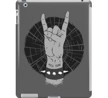 Hell Yeah! - Grey Hand Sign iPad Case/Skin