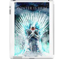 Winter Is HERE iPad Case/Skin
