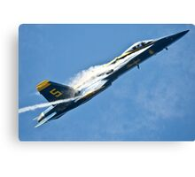 The Blue Angels Breaking The Sound Barrier Canvas Print