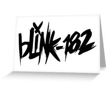 BLINK 182 Greeting Card