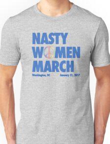 Nasty Women March On Washington, DC 2017 Unisex T-Shirt