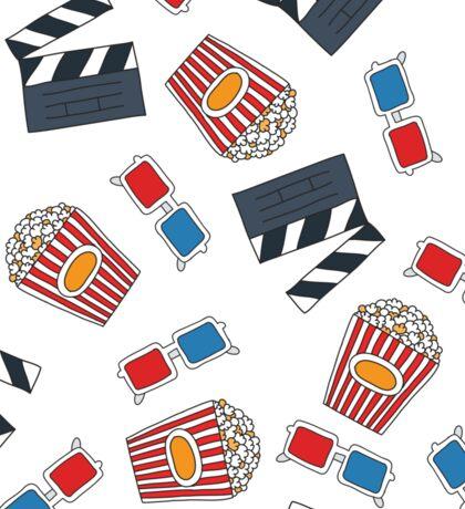 movie and cinema pattern Sticker