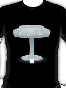 Glitch furniture sidetable shell side table T-Shirt