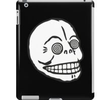 "Cheap Monday's ""Hypno Skull Cap"" (white) iPad Case/Skin"