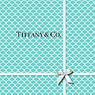 Tiffany & Co. Logo - Quatrefoil Pattern &  Ribbon by Everett Day