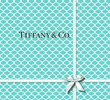 Tiffany & Co. Logo - Quatrefoil Pattern &  Ribbon by Everett Day