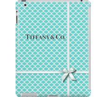 Tiffany & Co. Logo - Quatrefoil Pattern &  Ribbon iPad Case/Skin