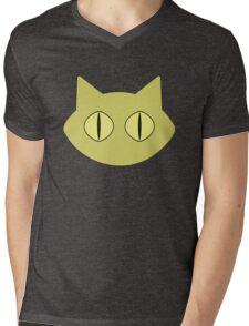 Kawaii Cat Mens V-Neck T-Shirt