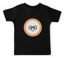 Salmon Maki Sushi Roll Emoji Nerd Noob Glasses Kids Tee