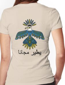 PsychedEagle Colour Womens Fitted T-Shirt