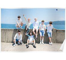 BTS Poster - Beach Poster