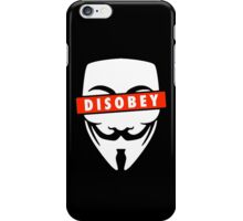 Disobey Censorship iPhone Case/Skin